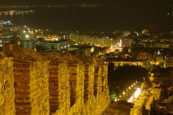 Ano Poli (Upper Town) & Acropolis (Eptapyrgio ...