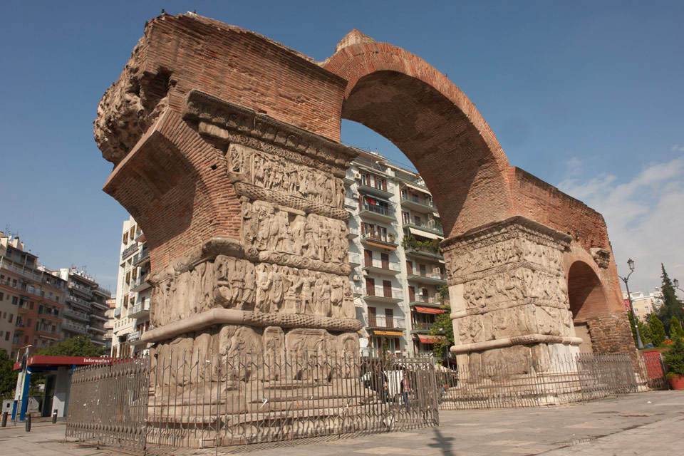 Arch of Galerius (Kamara), Thessaloniki Ancient Monument ...