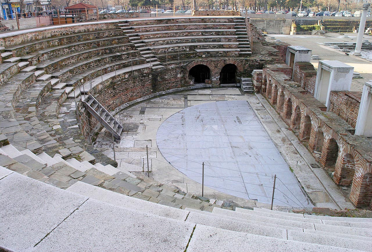 Ancient Agora (Roman Forum), Thessaloniki Archaeological ...
