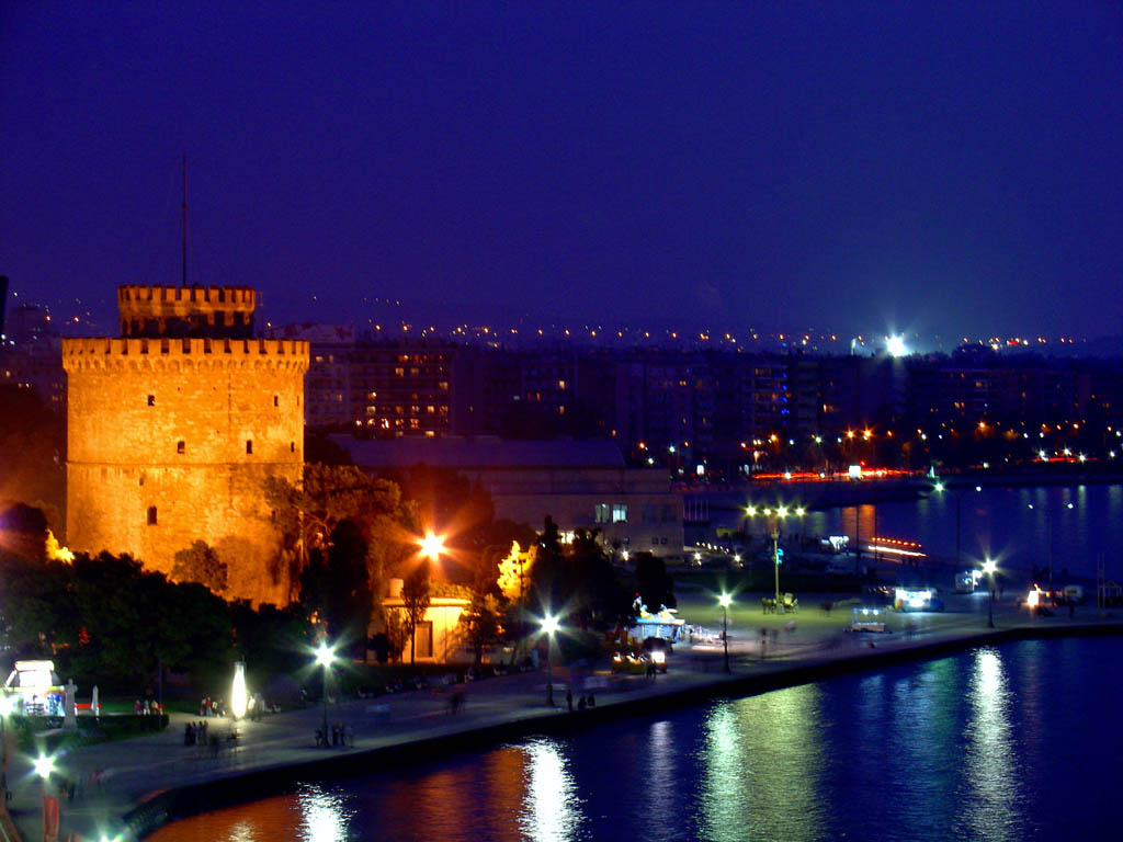 The White Tower, Thessaloniki Ancient Monument ...