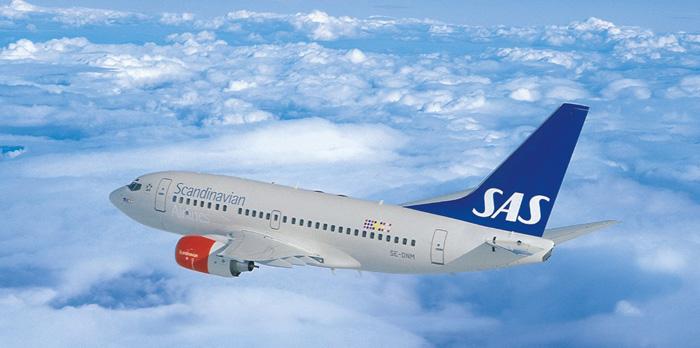 SAS Thessaloniki - Stockholm - Copenhagen