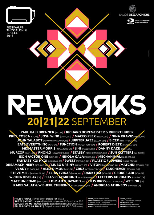 Reworks Thessaloniki Poster